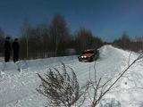 На зимнем ралли 24.03.2012 г.Рыбинск